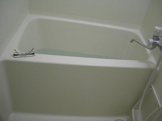 Hotel Sun Coral: お湯がすぐ貯まる浴槽