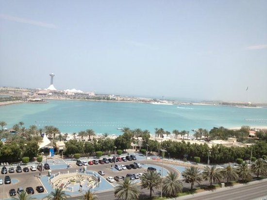 Hilton Abu Dhabi: view from the room