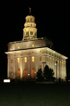 Historic Nauvoo : Nauvoo Temple @ Night