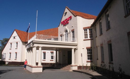Mercure Canberra: The original part of the hotel, built in the early 1900s