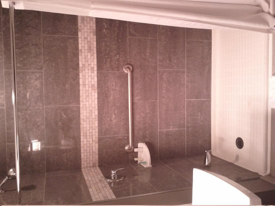 Comfort Inn City Centre: Impressive shower