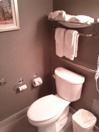Comfort Inn City Centre: Bathroom view nice setup
