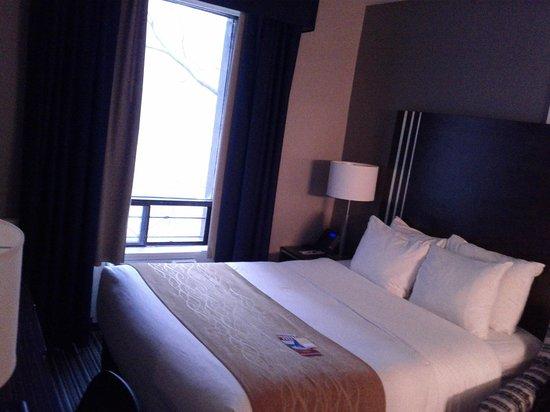 Comfort Inn City Centre: Queen Room