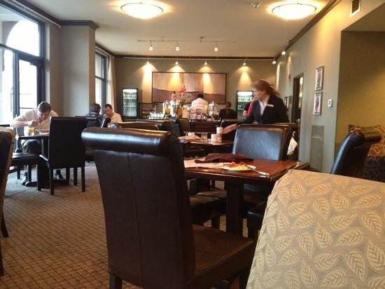 Hilton Dallas/Southlake Town Square: breakfast room