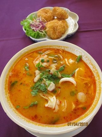 Gallery: tom yum goong noodle soup