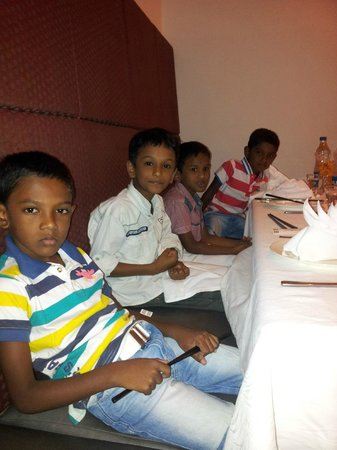 The Oriental Blossom: Kids at the restaurant
