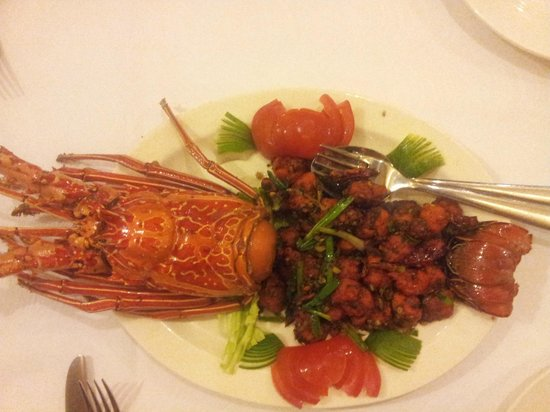 The Oriental Blossom : Lobster
