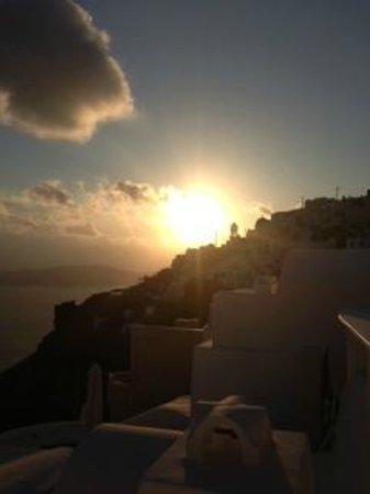 Chromata Hotel: sunset