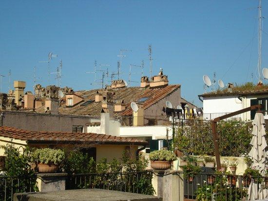 Smeraldo Hotel: Utsikt från takterrassen