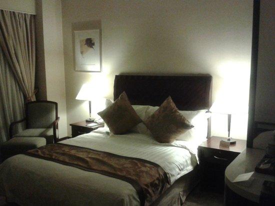 Hotel Equatorial Shanghai: Inside the room