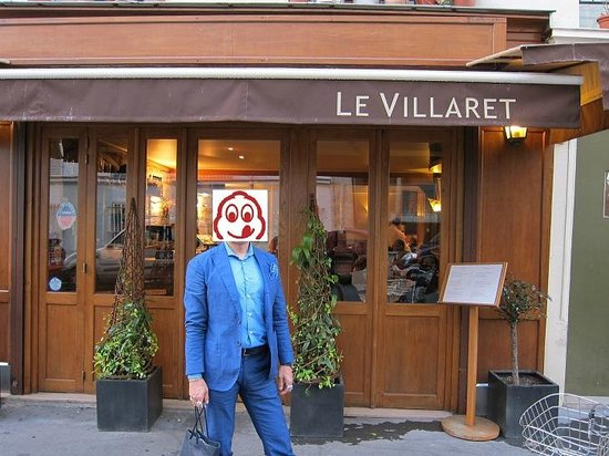 Le Villaret : The canopy is no longer green but eiffel brown like the change in Jules Verne