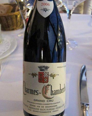 Royal Madeleine : Charmes-Chambertin Grand Cru 2006-Armand Rousseau