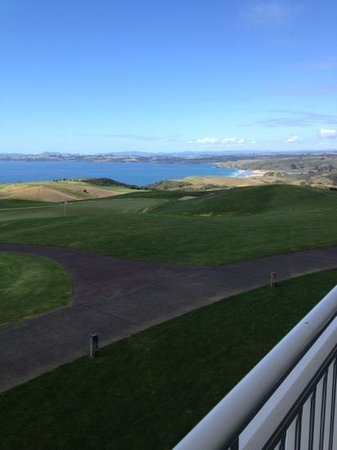 The Lodge at Kauri Cliffs: the wonderful view