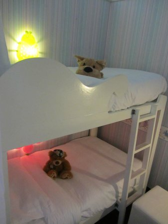 Hard Rock Hotel Pattaya: Bunk bed
