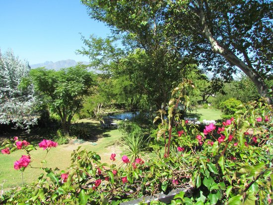 WedgeView Country House & Spa : Beautiful view from our room
