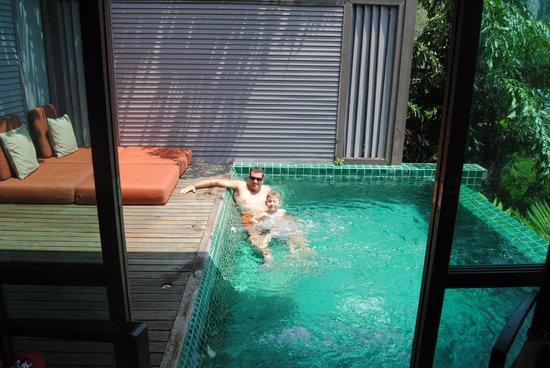 Centara Grand Beach Resort & Villas Krabi: private pool