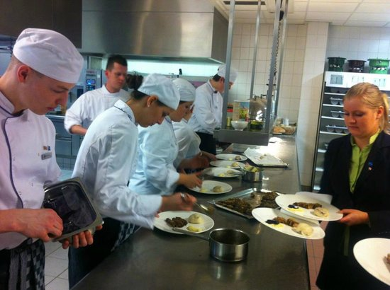 Restaurant.NL: Finishing the plates