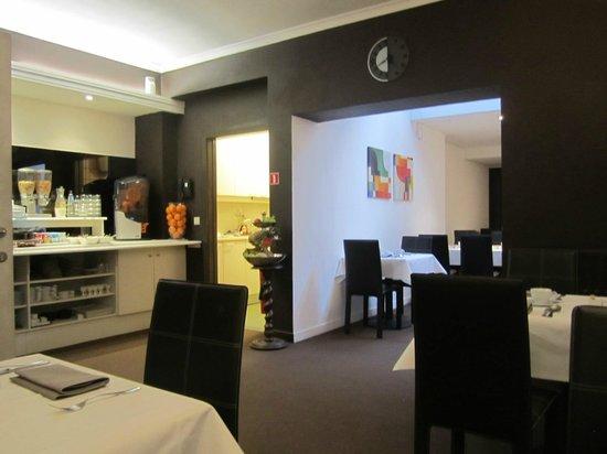Hotel Carlton: 朝食のお部屋