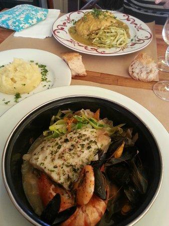 Trouville-sur-Mer, Francia: délicieuse marmitte de la mer