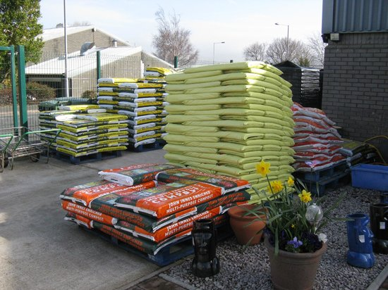 Pendre Garden Centre and Cafe: Wide Range of compost available