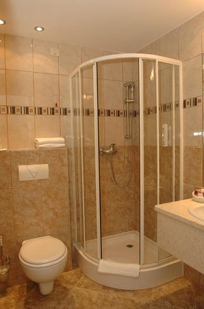 Bathrooms are equipped mostly with shower cabins - Picture of ...