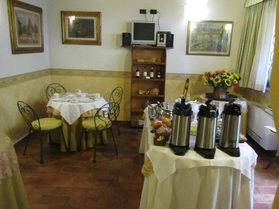 Residenza Il Villino B&B: Breakfast room