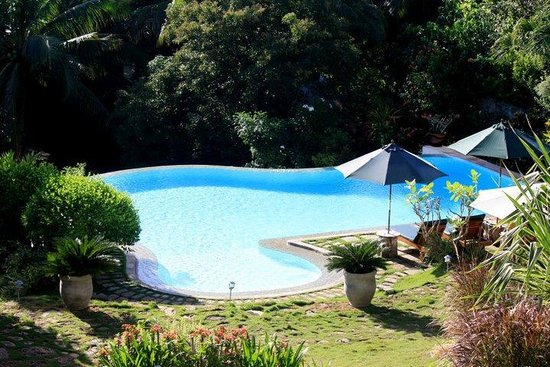 Amarela Resort: blue :)