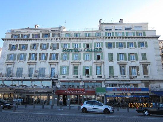 Hotel Alize Marseille - Vieux Port: Сам отель