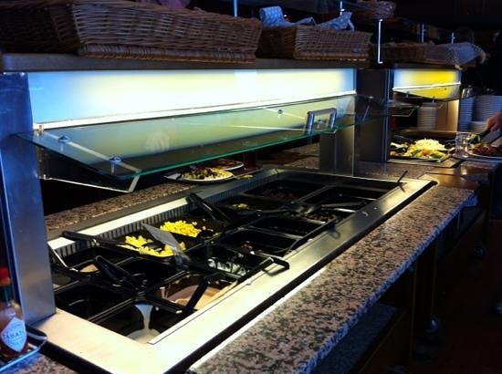Restaurang Bolaget Folkets Hus: Sallad buffé