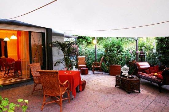 Hotel Luciana: veranda