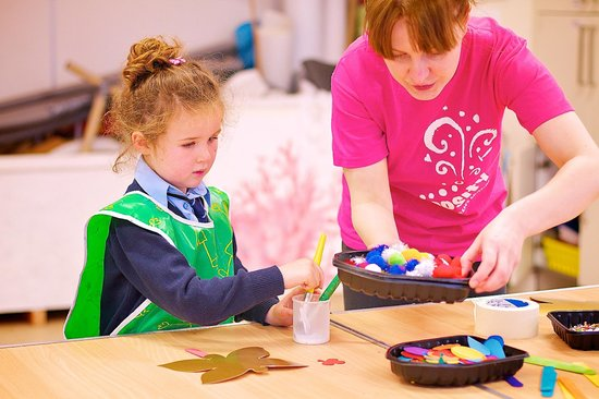 Imaginosity: Art Workshops take place throughout the week in our Art Studio