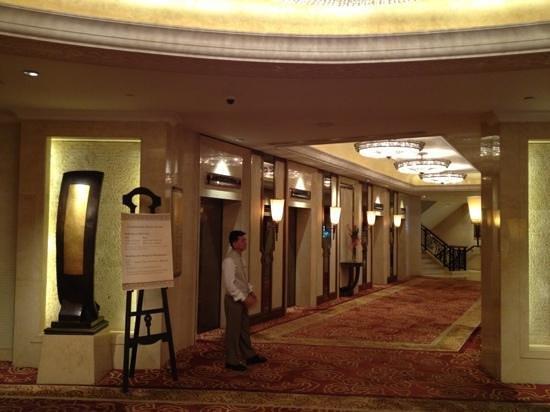 Shangri-La Hotel,Bangkok: lift