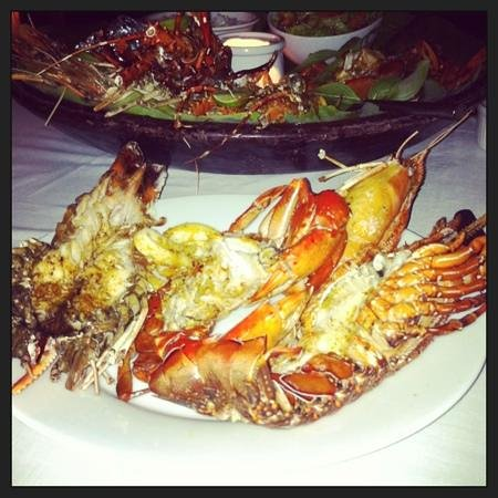 Apa Villa Thalpe: seafood dinner-exceptional