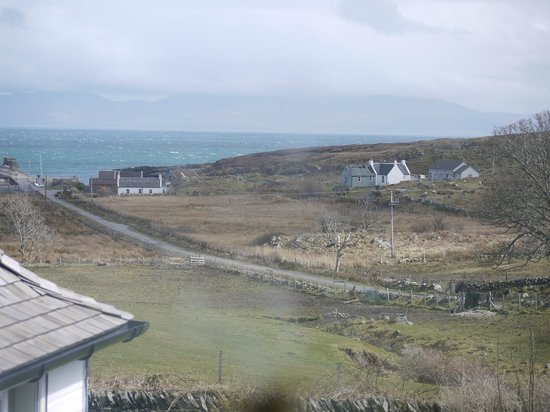 The Colonsay: View over the jetty and Jura