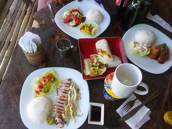 Spider House Resort: food