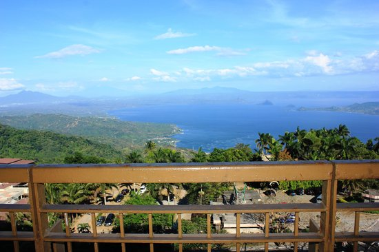 Summit Ridge Tagaytay: view from veranda