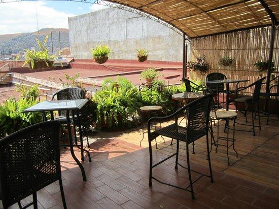 terrazzo comune - Picture of Hotel Posada del Centro, Oaxaca ...