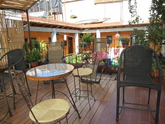 Hotel Posada del Centro: cortile interno