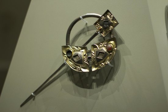 National Museum of Ireland - Archaeology : A beautiful brooch, (not the Tara Brooch) but my favourite.