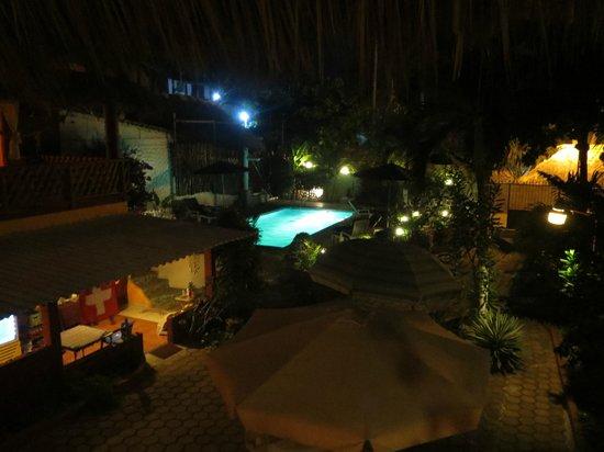 Hotelito Swiss Oasis: panoramica notturna