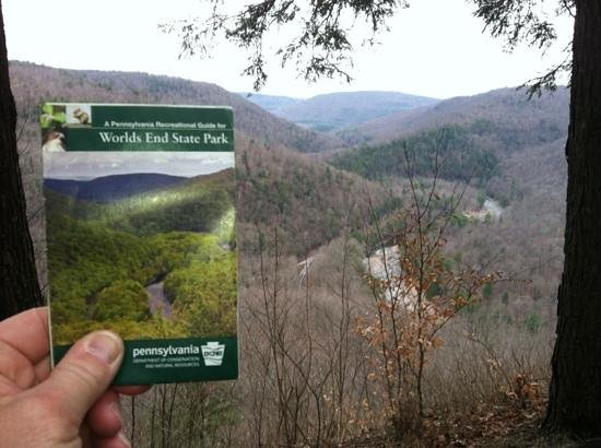 Worlds End State Park: looks familiar