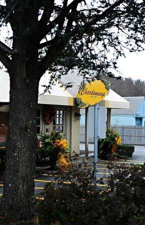 Chardonnay's Restaurant: Entrance