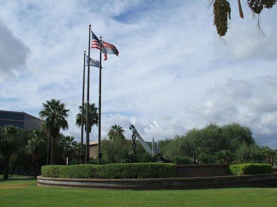 Wesley Bolin Memorial Plaza: USS Arizona Memorial