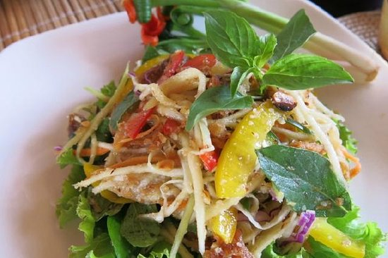 Siddharta Boutique Hotel: Must try green mango salad !