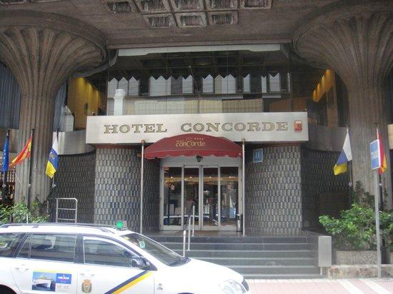 Concorde Hotel Gran Canaria : wejscie głowne