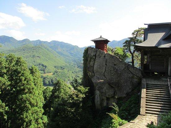 Risshaku-ji Temple: 納経堂