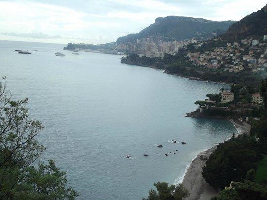 Monte Carlo Harbor: View looking back to Monte carlo
