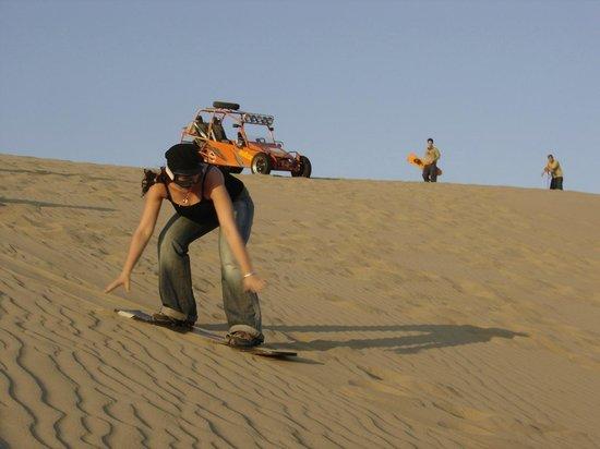 Adrenarena: Sandboarding de pie