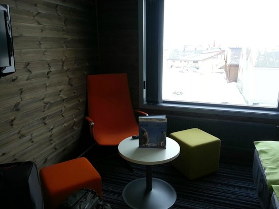 Svalbard Hotel: Comfortable chairs in room