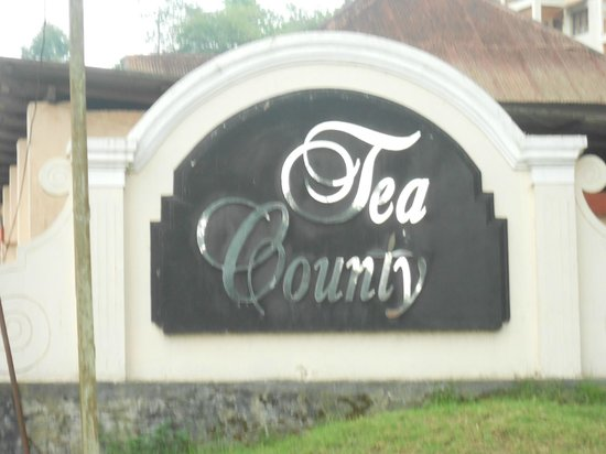 KTDC Tea County Munnar: Entrance to the Hotel Area